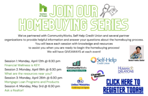 Homebuying Series (partnership with Homes of Hope)